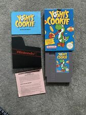 Yoshi's Cookie Nintendo Nes Game UK Version Fully Cleaned & Tested