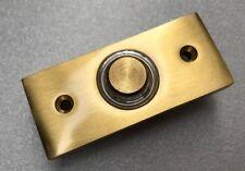 Friedland Elite D620Unterputz Klingelplatte Klingeltaster messing goldfarben
