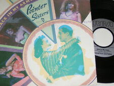 "7"" - Pointer Sisters Back in my Arms - Promo 1986 # 5934"