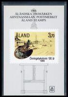 Aland Jahresmappe 1986 postfrisch MNH