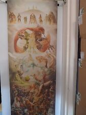 "**the legend of zelda 25th anniversary Genuine Fabric poster wall scroll 87""x16"""