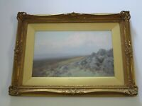 ANTIQUE  Frederick John Widgery  (1861 - 1942) PAINTING IMPRESSIONISM TRANQUIL