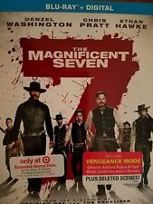 The Magnificent Seven Target Exclusive Bonus Disc Blu Ray Brand New Sold Out