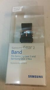 Samsung Smartwatch Replacement Band for Gear 2 - Brown Leather - Brand New Oem