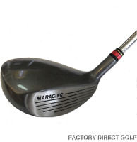 NEW 5 WOOD HYBRID 19° GOLF CLUB GRAPHITE SENIOR FLEX