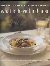 What to have for dinner: The best of Martha Stewar