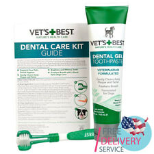 Dog Toothpaste Gel + Toothbrush Teeth Cleaning and Fresh Breath Dental Care Set