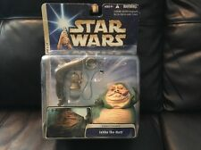 Hasbro Jabba the Hutt Jabbas Palace Action Figure New In Package 2004 Vintage