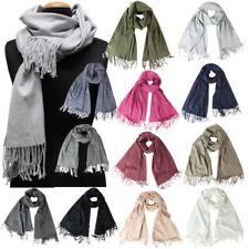 XXL Fransen unifarbene Damen-Schals & -Tücher