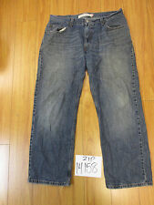 Used Levi 559 relaxed straight fit grunge jean tag 36x30 meas 35x28.5 zip14158