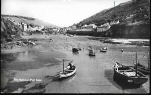 Port Isaac, Cornwall - Harbour - Lilywhite RP postcard c.1960s