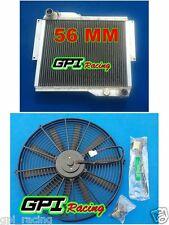GPI Racing ROVER MG MGB GT V8 1973-1976 73 74 75 Aluminum Radiator + fan