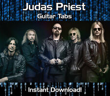JUDAS PRIEST ROCK GUITAR TAB TABLATURE DOWNLOAD SONG BOOK SOFTWARE TUITION