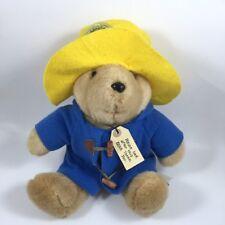 "Vintage Eden Paddington Bear Plush Large 14"" Macys 1989 31st Anniversary"