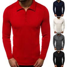 Suéter Sweater chaqueta de punto jersey de punto fino truco suéter señores ozonee 95005