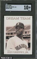 1993 Score Dream Team #536 Ken Griffey Jr. Mariners HOF SGC 10 GEM MINT