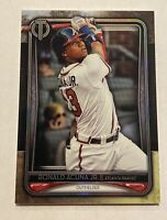 2020 Topps Tribute Ronald Acuna Jr. Base Card #46 - Braves