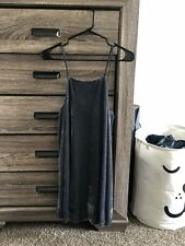 Urban Outfitters Kimchi Blue Strappy Grey Suede A Line Dress Size S