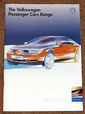 1996 VW RANGE Sales Brochure inc Golf GTI Anniverasry VR6 Polo Vento New Passat