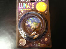Wireworld Luna 5 Subwoofer Y cable 4 Meter Mono RCA patch cord for sub car home