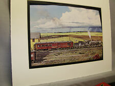 Soo Line Steam in Central North Dakota  Illustrated  Color Railroad Archives 0D