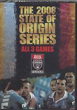 NRL - State Of Origin: 2008 - All 3 Games (3 DVD Set)