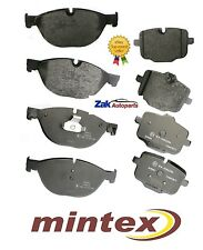 BMW 5 SERIES F10 F11 (10-) 520D DIESEL FRONT & REAR BRAKE DISC PADS SET MINTEX