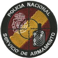 PARCHE POLICIA CNP SERVICIO ARMAMENTO POLICE EB01199
