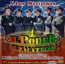 El Poder de Zacatecas Mariposa Traicionera CD New