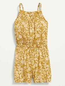 Old Navy New kids Girls size L (10-12)Sleeveless Printed Romper for Girls