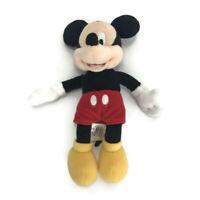 "Mickey Mouse Disney 10"" Inch Tall Bean Bag Stuffed Animal Plush Doll Toy Gift"