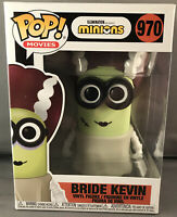 Funko Pop! Movies -Bride Kevin - Minions - #970 Shipped in EcoTEK Protector