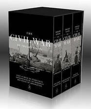 The Civil War Boxed Set (Modern Library) - New Book Foote, Shelby #AZG