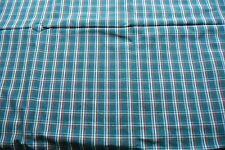 1.75 metres Lee Jofa green check weave fabric - RRP £45 per metre