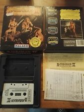 Barbarian II 2 Palace.. NOT Twin PACK. Software Boxed - Commodore 64 128 CBM 64C