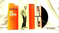 1968 Rod McKuen Very Warm Decca LP 33 Vinyl Record DL 74969 Pop Folk