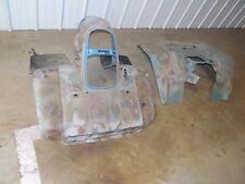 yamaha yfm350er moto 4 350 front rear back fender fenders blue plastic 1987 225