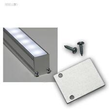 End-Abschlußplatte fü Aluminium-U-Profil hoch (nicht für alle siehe Beschreibg)