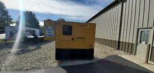 60 KW DIESEL GENERATOR CAT PERKINS SOUND ENCLOSURE 120/208/240/480 VAC
