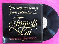 Francis Lai LP Vinyle Love Story Un Hombre Y Una Mujer OLIVER'S Story Live Por