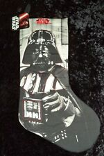 Star Wars Darth Vader Grayscale Christmas Stocking NEW!