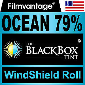 "WINDSHIELD TINT ROLL 79% VLT 36""x70"" FOR MERCEDES-BENZ"