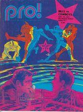 1971 Buffalo Bills v Cowboys Program Dallas Season Champs 9/19 Ex 32366