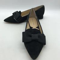 Adrienne Vittadini Black Bow Heel 8.5