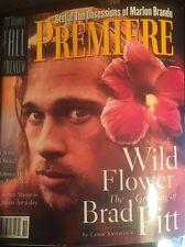 Premiere Magazine Brad Pitt Liv Tyler Johnny Depp Fabio Marlon Brando Drag Queen
