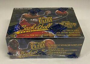 1996-97 Fleer Ultra Basketball Series 1 Sealed Retail Box Kobe Bryant RC YR