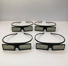 4 Pairs of Samsung 3D Glasses 3D Active Glasses Model SSG-4100GB