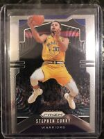 2019-20 Panini Prizm Stephen Curry #98 Golden State Warriors
