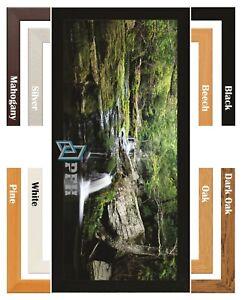 Bespoke Photo Frame Picture Frame Poster Frame Real Wood Frames