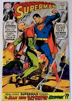 Superman #205 DC 1968 VF Silver Age Comic Book Neal Adams 1st Print